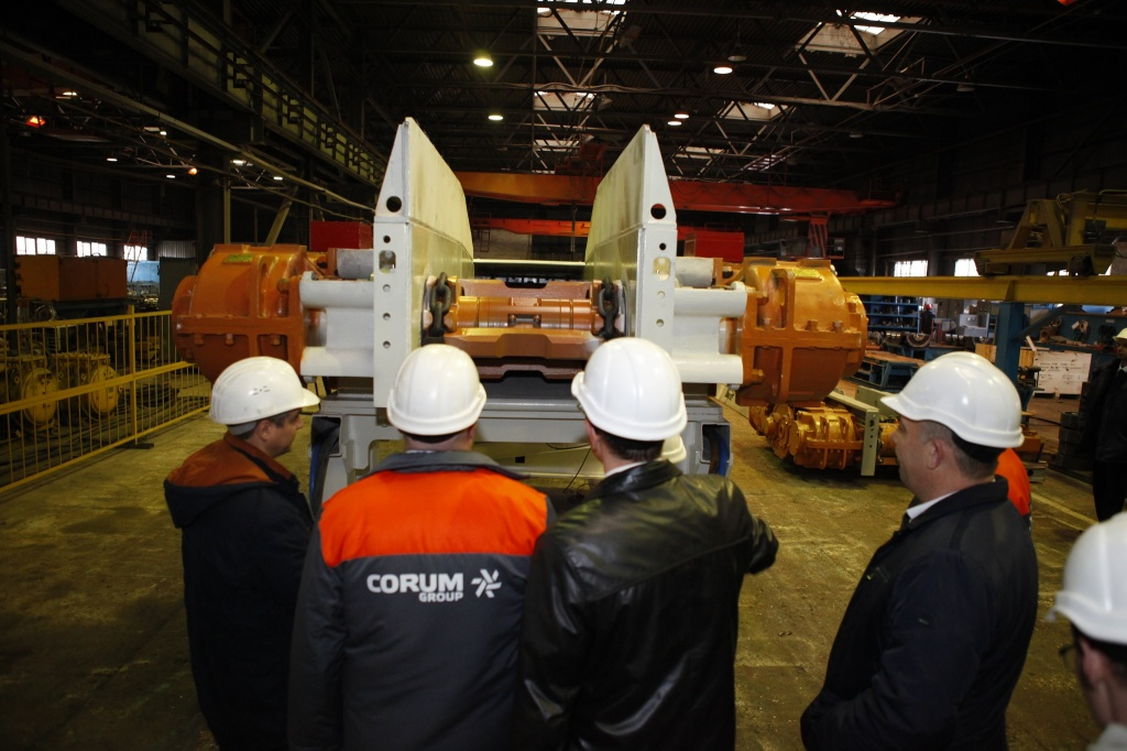 Corum Svet Shakhtyora Plant increased their output and shipped equipment almost by UAH 200 million