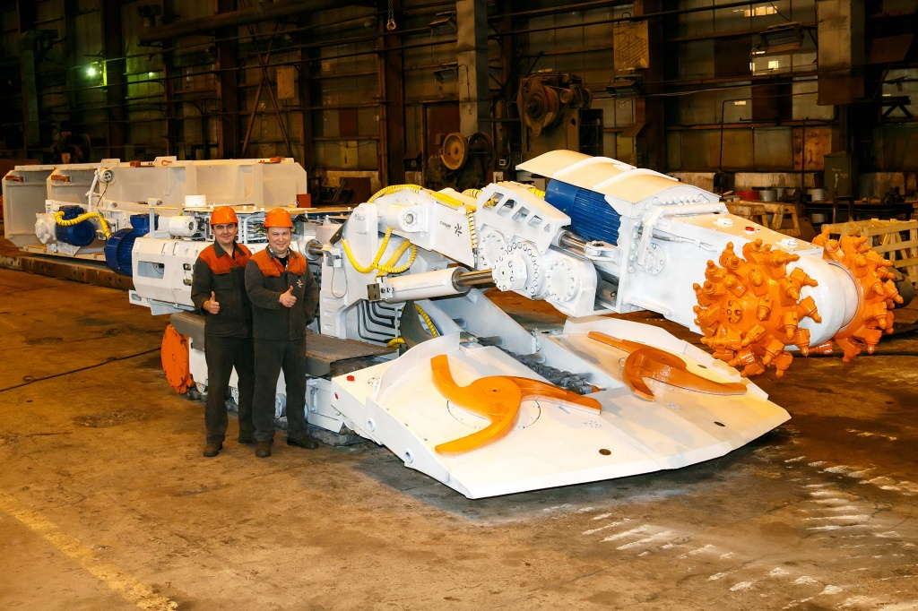 Gorgeous Three: one more tunnelling machine has been shipped to Corum Druzhkovka Machine-Building Plant
